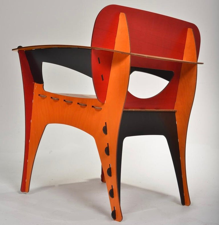 Late 20th Century David Kawecki Puzzle #1 Chairs '40 Available' For Sale
