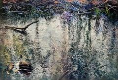 Pond Calligraphy