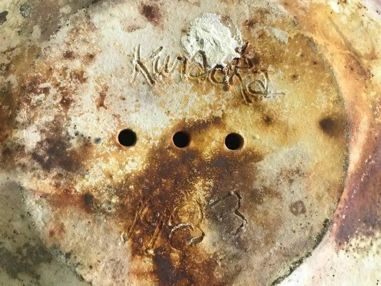 David Kuraoka Large Ceramic/ Pottery Vessel For Sale 1