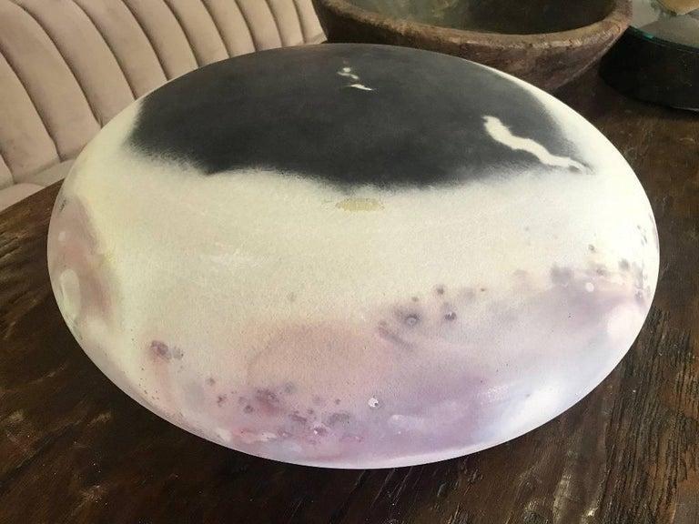 David Kuraoka Large Ceramic/ Pottery Vessel For Sale 2