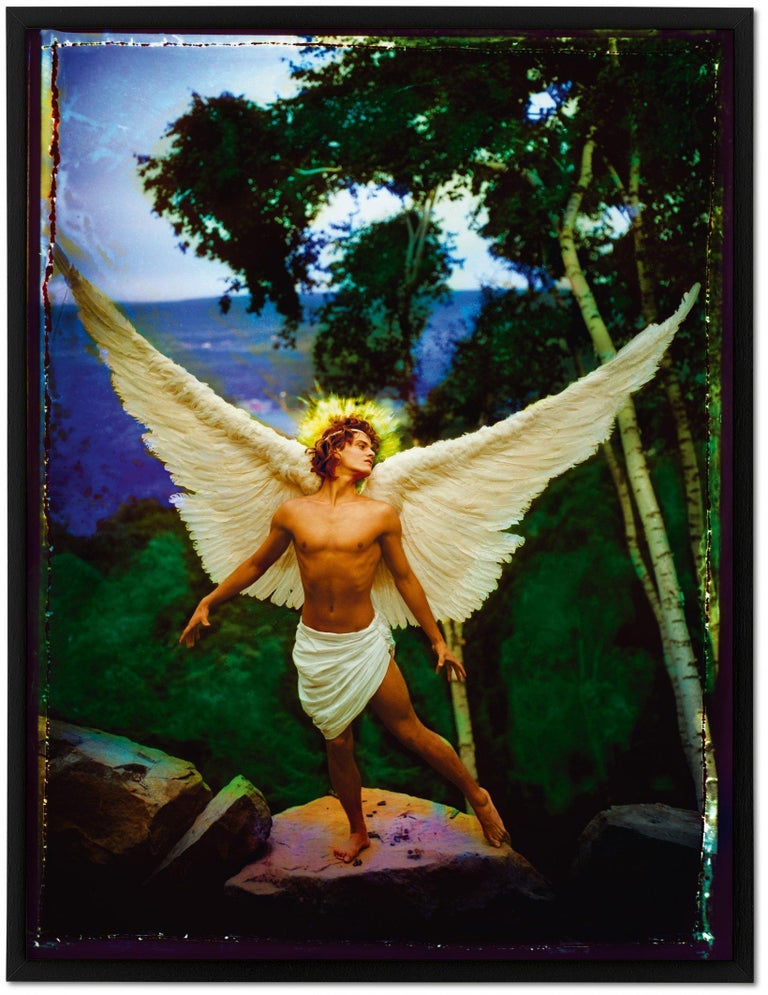 Contemporary David La Chapelle, Lost and Found, Good News, Art Edition For Sale