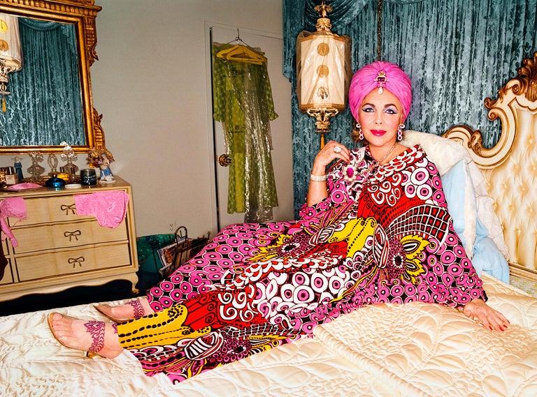 David LaChapelle Color Photograph - Elizabeth Taylor: National Velvet, Burbank CA