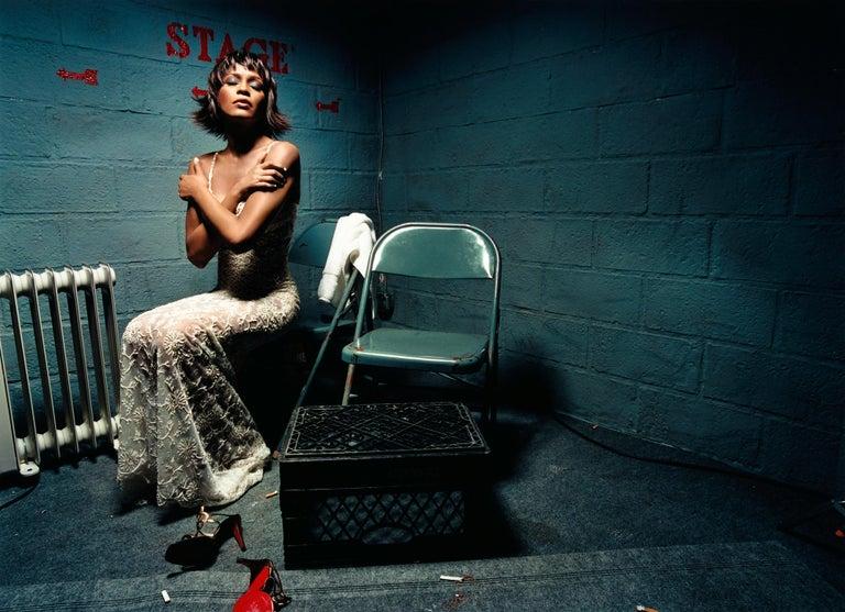 David LaChapelle Color Photograph - Whitney Houston: Closed Eyes
