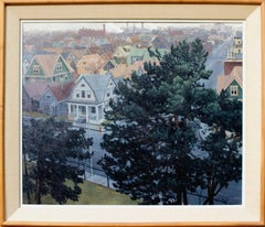 'View from North Avenue Reservoir Looking East, Milwaukee' by David Lenz