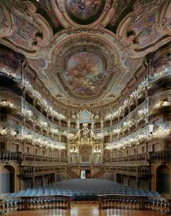 Margravial Opera House, Bayreuth, Germany, David Leventi, Archive Print