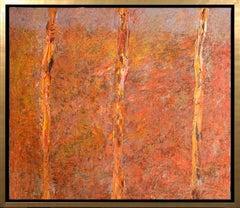 """Trunks"" Oil on Canvas 48"" x 43"" Framed By Leviathan"