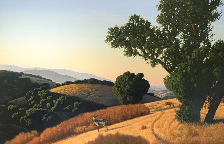 """Characterized by beauty, Classical order, and a sense of social responsibility, David Ligare's figurative paintings, landscapes, architectural subjects, and still lifes explore the origins of Western art and thought while addressing the modern"
