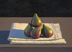 Still Life with Figs on Cloth