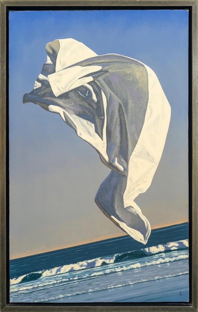 David Ligare Still-Life Painting - Thrown Drapery (Redux) Study 1