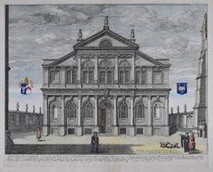 David Loggan Sheldonian Theatre Oxford Theatra Sheldoniani 1675 engraving