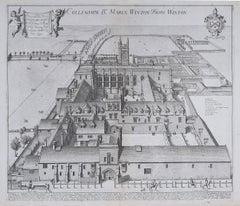 David Loggan Winchester College 1675 engraving Wykehamist