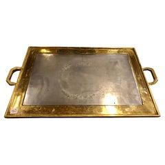 David Marshall Bronze Platter