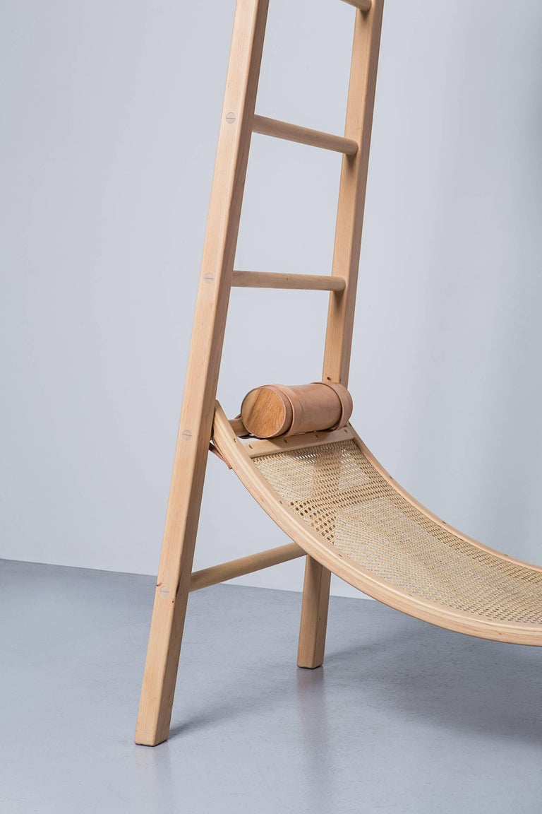 Post-Modern David Mazel Tov Life Guard Chair, Handcrafted Maple Coastal Inspiration Seating For Sale