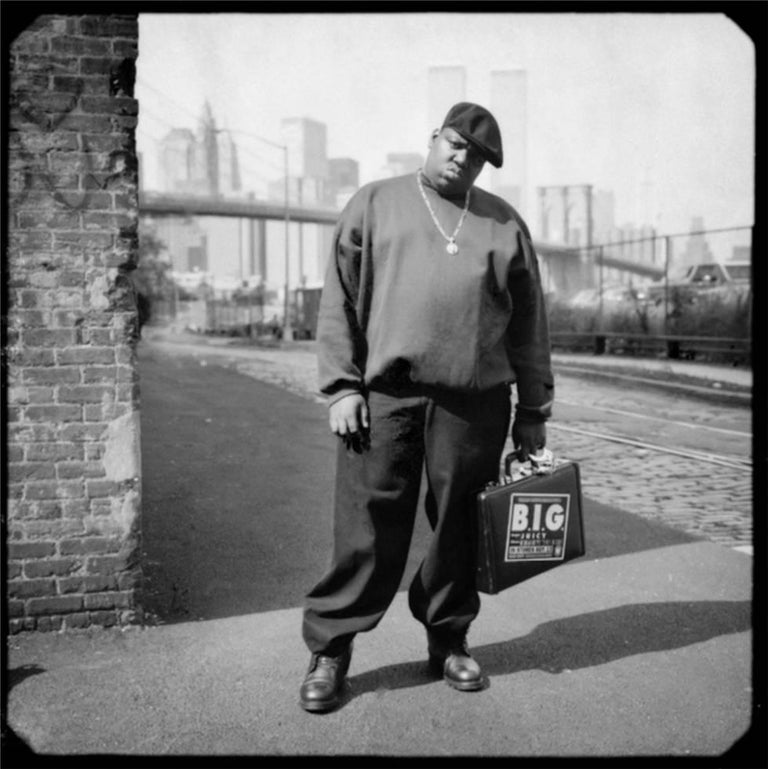 0f4b865ff666 David McIntyre Portrait Photograph - The Notorious B.I.G. (Biggie Smalls)