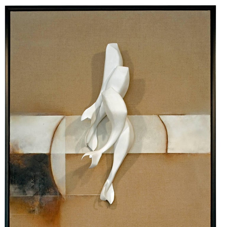 Diptych; Still Stand - Sculpture by David Mellen