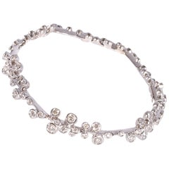 David Morris White Gold 2.00 Carat Diamond Bracelet