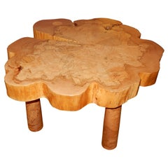 David N. Ebner, Spalted Maple Wood Coffee Table