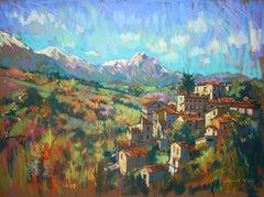 Arsita Morning Light original Contemporary landscape painting
