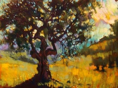 Olive Tree Arbuzzo original Contemporary landscape painting