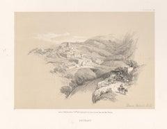 Bethany. Tinted lithograph after David Roberts, 1855.