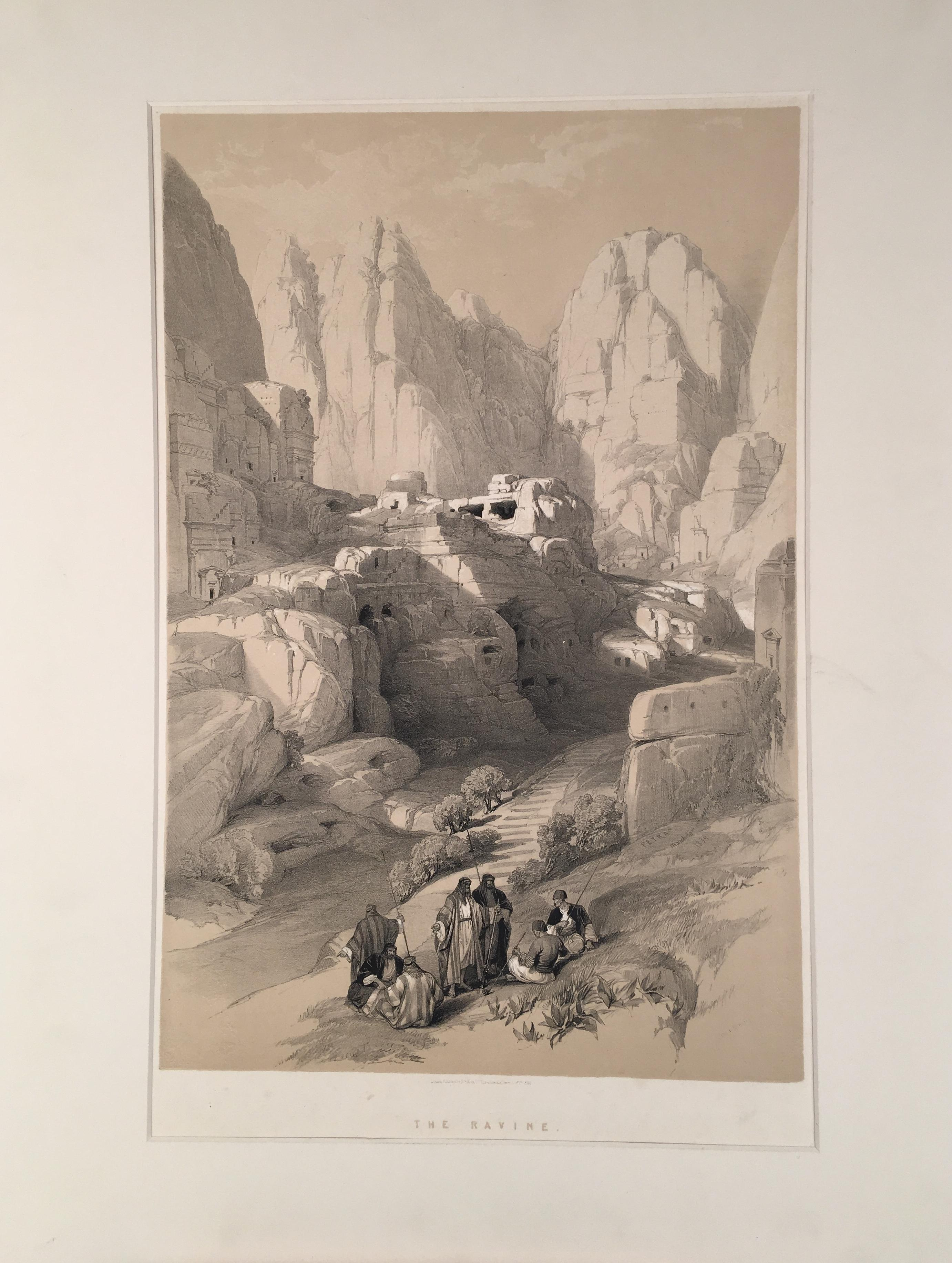 The Ravine (Petra 1834)f