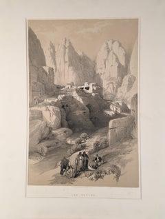The Ravine (Petra 1834)
