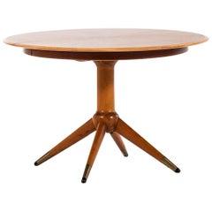David Rosén Dining Table Produced by Nordiska Kompaniet in Sweden