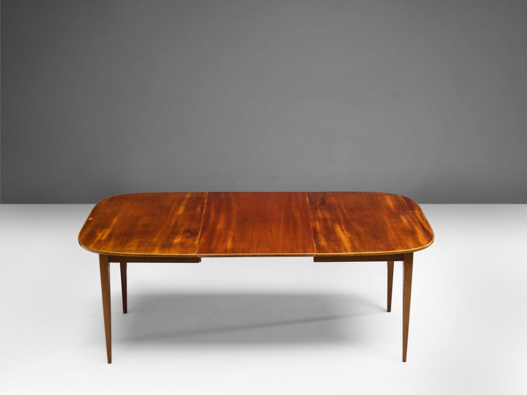 Swedish David Rosén Extremely Large Extendable Dining Table For Sale