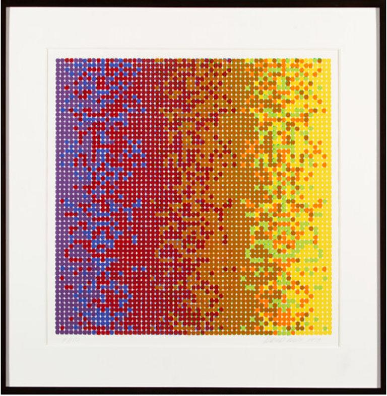 David Roth 'Untitled 1' Signed, Limited Edition Geometric Abstract Print