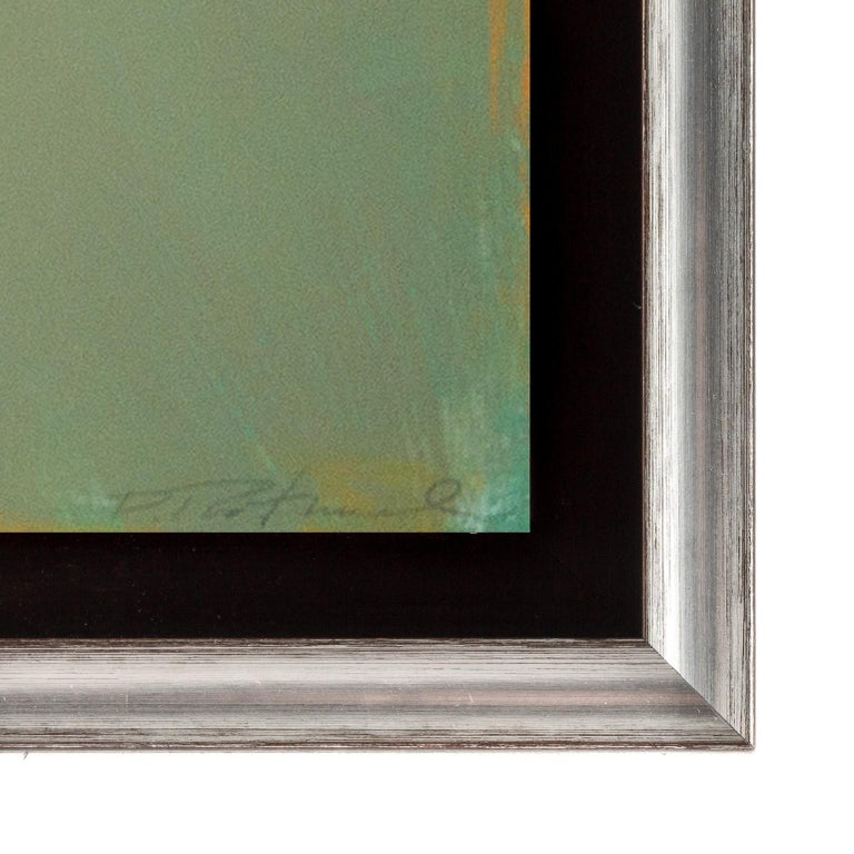This piece is framed. The price reflects the framed piece. Unframed dimensions: 60 x 84 inches.  American artist, David Rothermel of David Rothermel Contemporary, Santa Fe, New Mexico, was born in Sunbury, Pennsylvania, a small town located at the