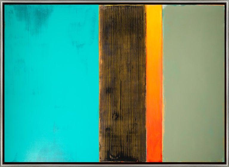 David Rothermel Abstract Painting - Harpsicord