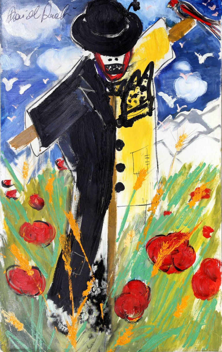 Scarecrow, Large Oil Painting by David Rucli