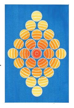 Diamond Dot (blue) Amagansett Series