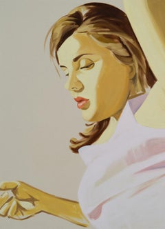 David Salle, Woman with Raised Arm