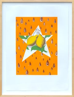 The Lemon Twig, Framed Lithograph by David Salle