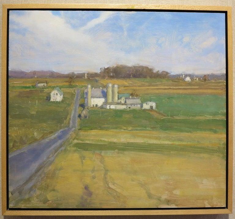 Honeybrook, PA Lancaster County - Painting by David Shevlino