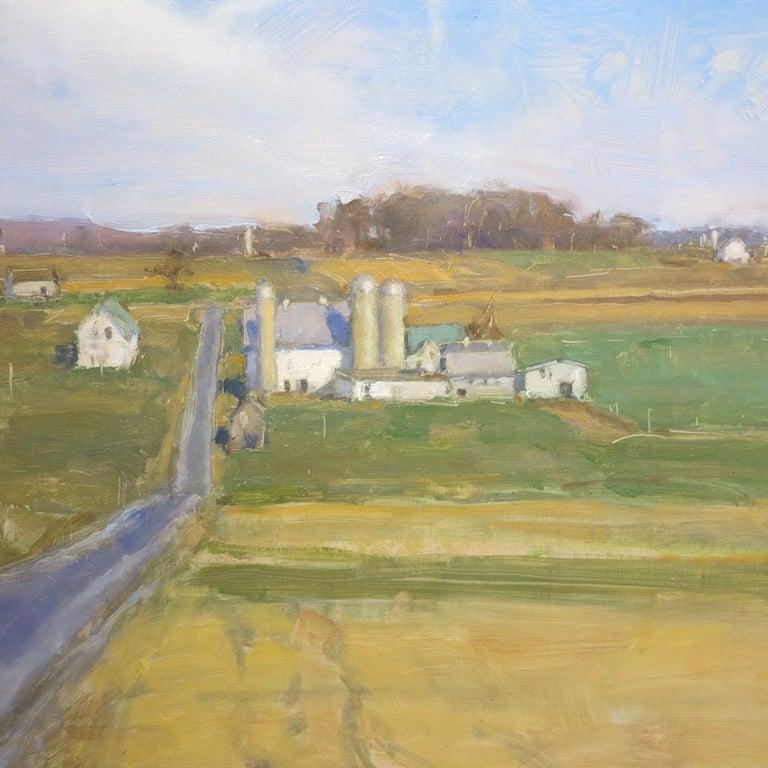 Honeybrook, PA Lancaster County - Realist Painting by David Shevlino
