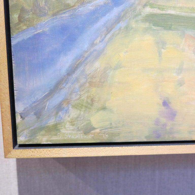Honeybrook, PA Lancaster County - Brown Landscape Painting by David Shevlino