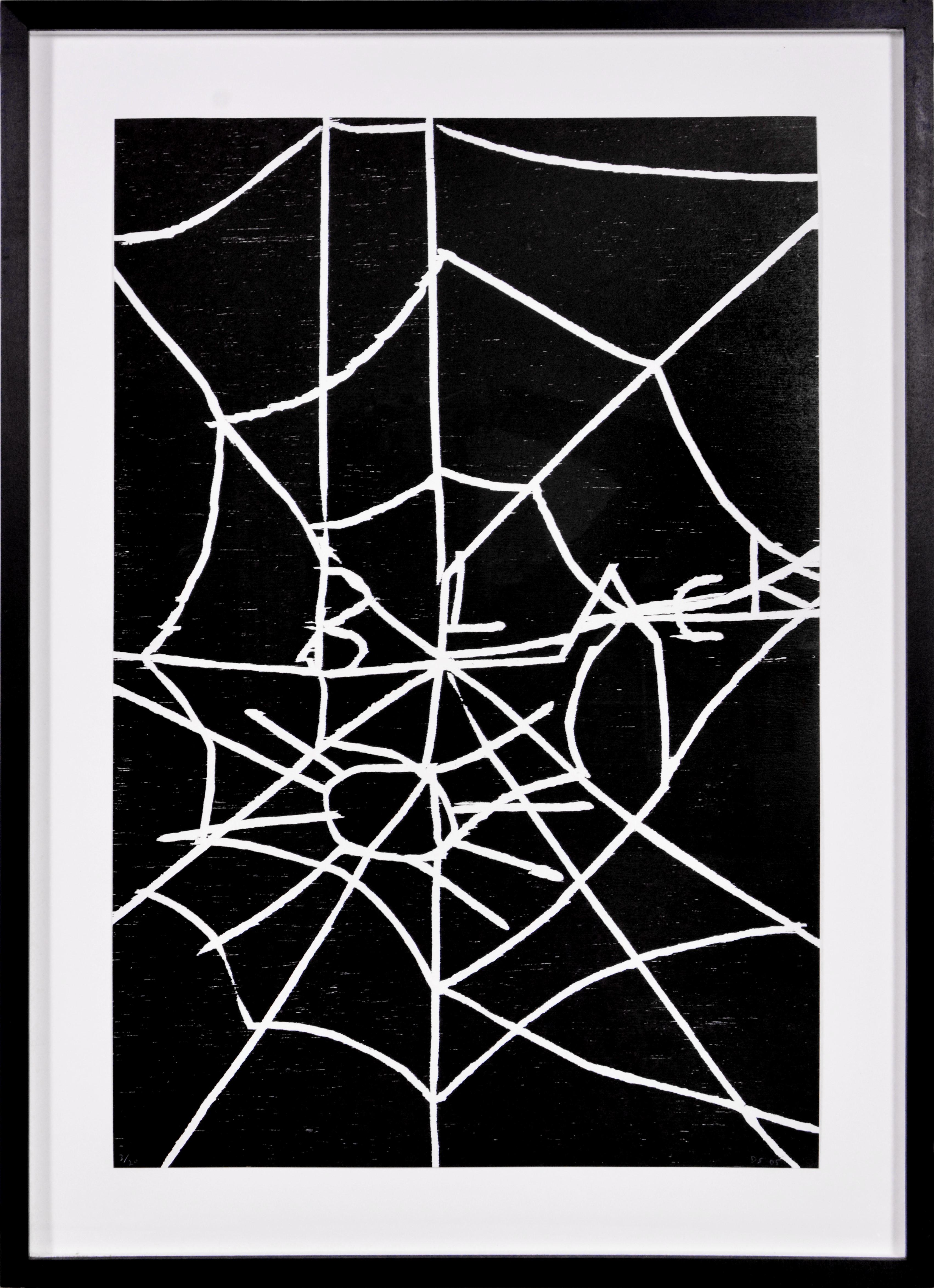 David Shrigley, Web, Woodcut, 2005