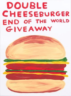 Double Cheesburger End Of The World Giveaway