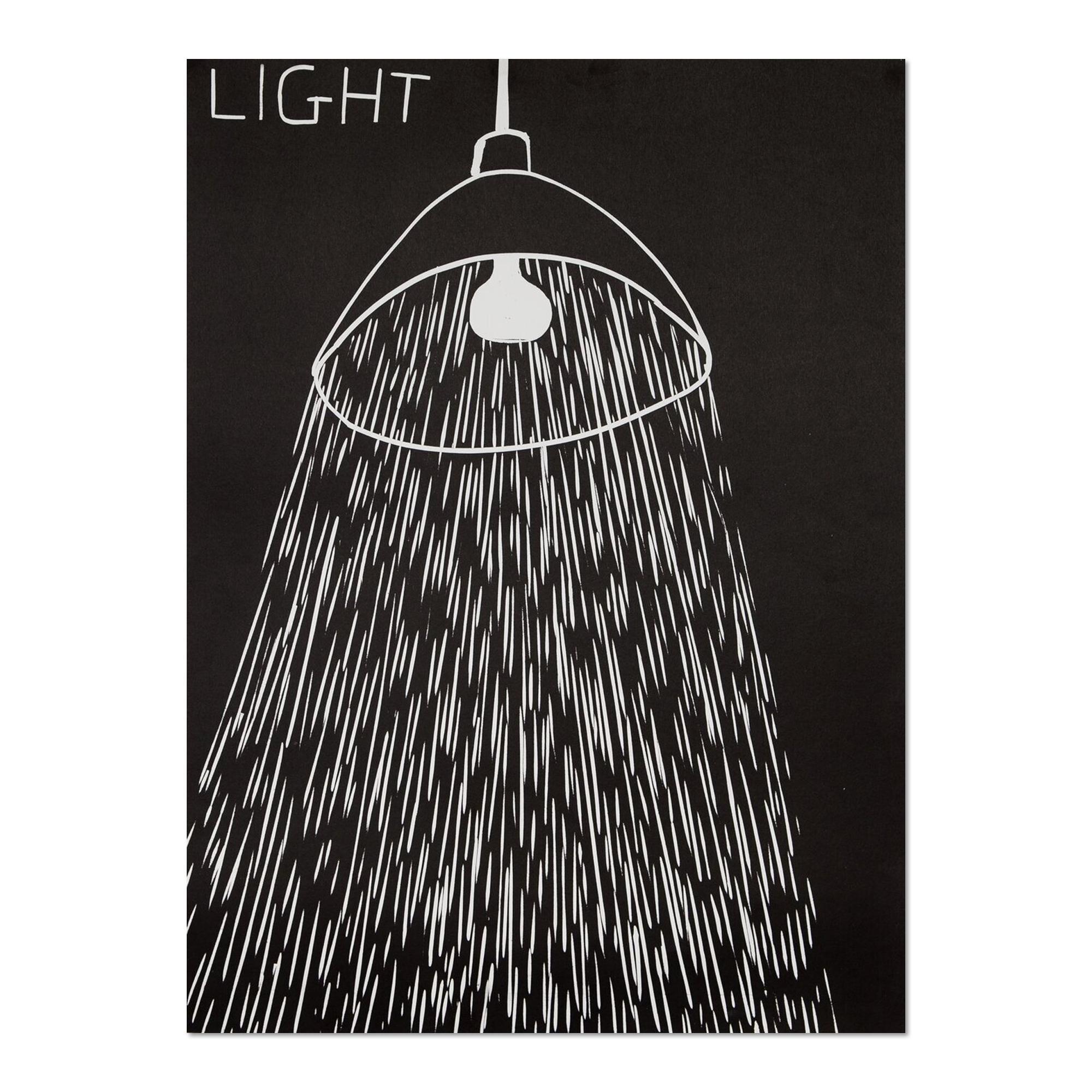 Light, Linocut, Contemporary Art, 21st Century