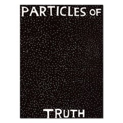 Particles of Truth, Linocut, Contemporary Pop Art