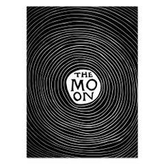 The Moon, Linocut, Contemporary Art, 21st Century
