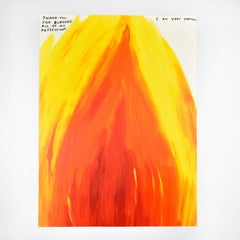 Untitled (Thank you for burning all of my possessions)