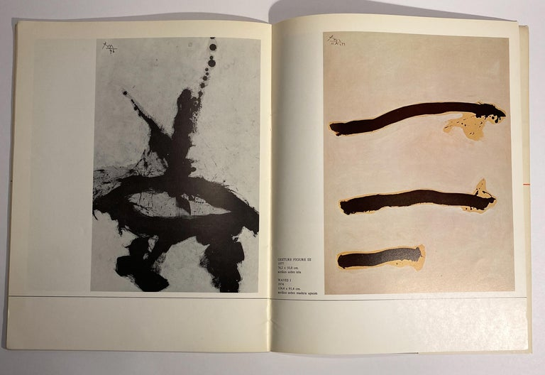 David Smith, Robert Motherwell Catalog with Installation Photographs For Sale 3