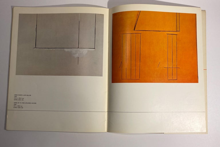 David Smith, Robert Motherwell Catalog with Installation Photographs For Sale 4