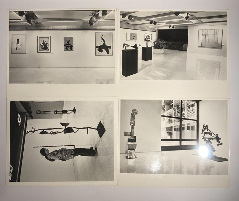 American David Smith, Robert Motherwell Catalog with Installation Photographs For Sale
