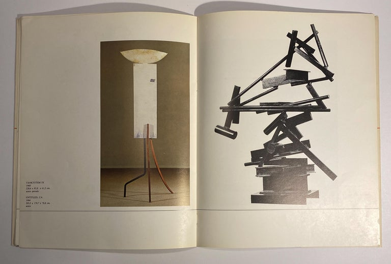 Paper David Smith, Robert Motherwell Catalog with Installation Photographs For Sale