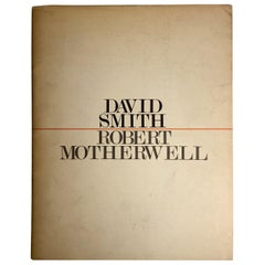 David Smith, Robert Motherwell Catalog with Installation Photographs