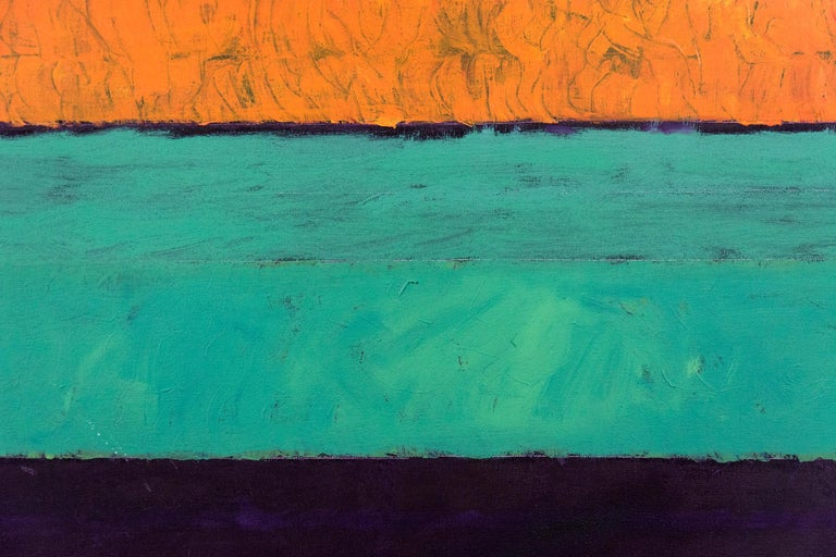 Entry 3 - Orange Yellow Green Violet  - Contemporary Art by David Sorensen
